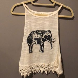 Bought at Island Gypsies high neck elephant tank